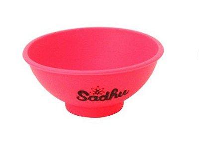 Cuia de Silicone Rosa Sadhu