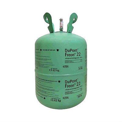 Gás Refrigerante Freon R22 Dupont