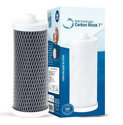Refil Carbon Block 7'' - Planeta Água