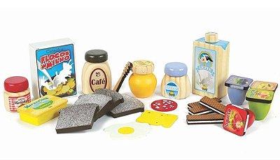 Coleção Comidinhas - Kit Café da Manhã