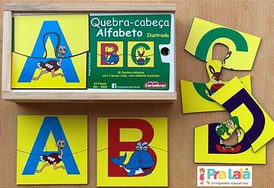 Quebra-cabeça Alfabeto Ilustrado
