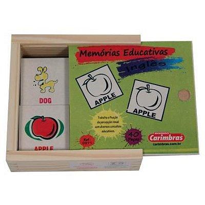 Jogo da Memória de Inglês