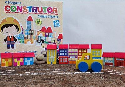 Pequeno Construtor Cidade Gigante com Conjunto de Mini Carrinhos
