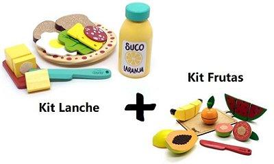 Kit Comidinhas - Lanche + Frutas