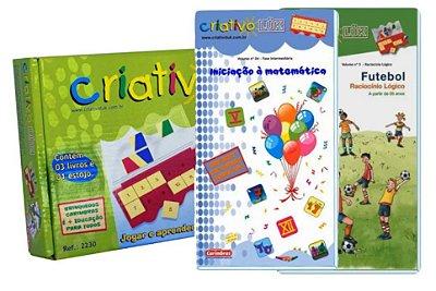 Kit Promocional Criativo Luk - 5 livros