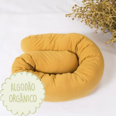Minhoquita para moises algodão orgânico cúrcuma