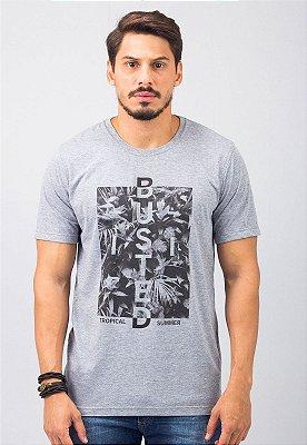 Camiseta Gola Tradicional Mescla Tropical
