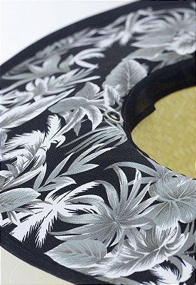 Chapéu de Palha Mono Floral