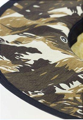 Chapéu de Palha Camuflado Marrom