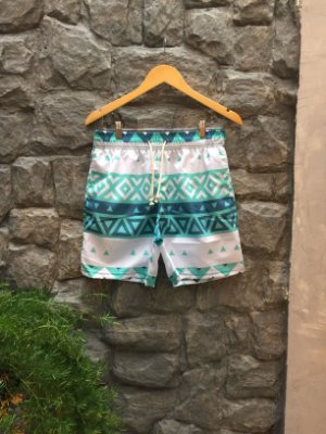 Beach Short Estampado Étnico