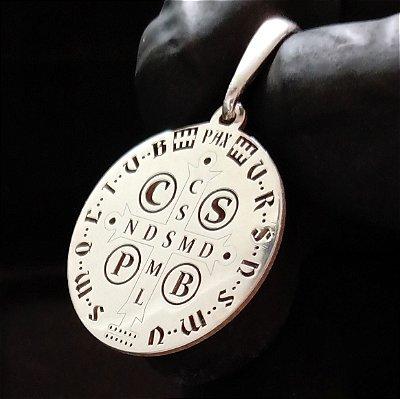 Pingente Medalha de São Bento