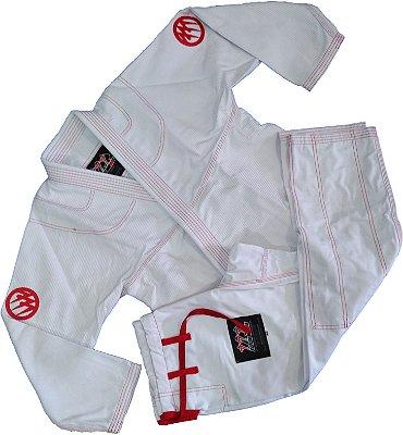 Kimono Branco 777 - Bordado