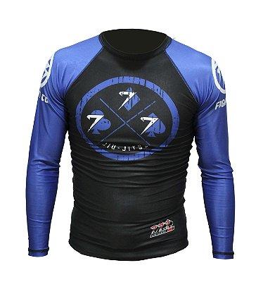 Rash Guard Azul 777