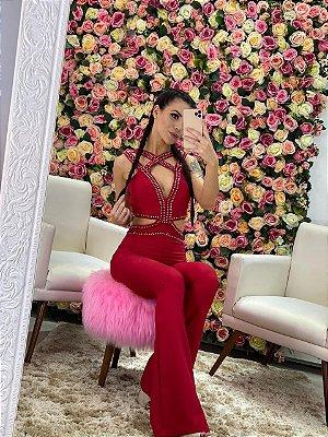 Macacão Nicole Red