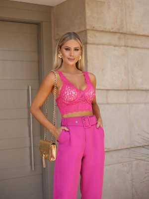 Top Mary Pink