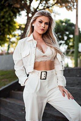 Cropped Fabiana MondaBelle Branco
