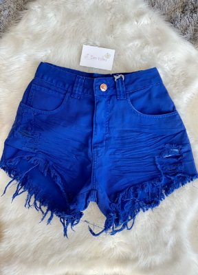 Short Jeans Azul Lady Rock