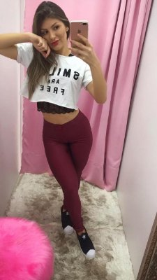 Legging Disco Bordô