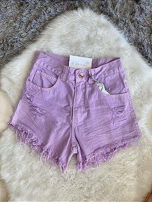 Short Jeans Lavanda