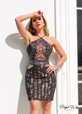 Vestido Bordado Perfect