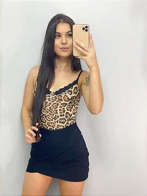 Short Saia Preta - Tamanho P
