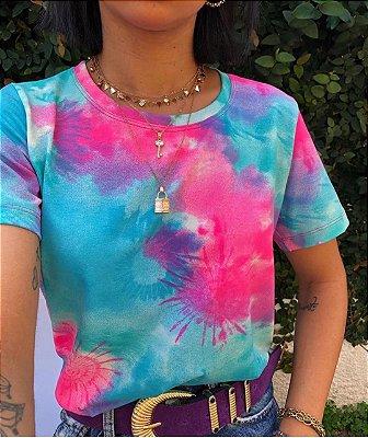 T-shirt Tie dye Blue