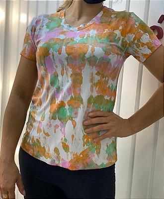 T-shirt Tie Dye Orange