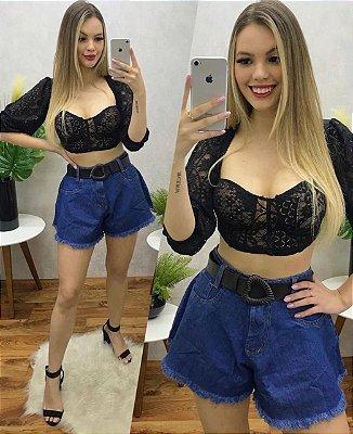Shorts Godê Azul Escuro