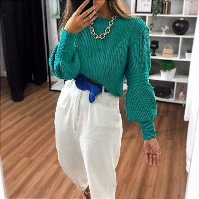 Blusa Marcela - Verde Turquesa