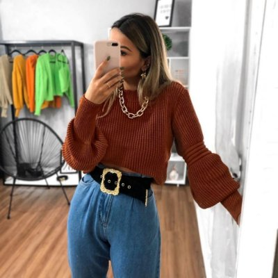 Blusa Marcela - Telha
