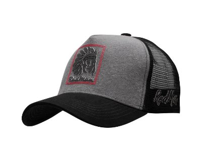Boné American Indians Black - RED 071