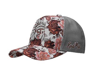 Boné Red Man Roses - RED 077