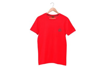 CAMISETA BÁSICA - RED MAN - VERMELHA