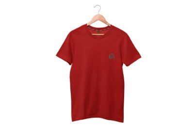 CAMISETA BÁSICA - RED MAN - BORDO