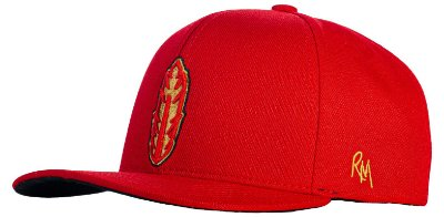 Boné Red Man SNAPBACK GOLDEN FEATHER - RED 578