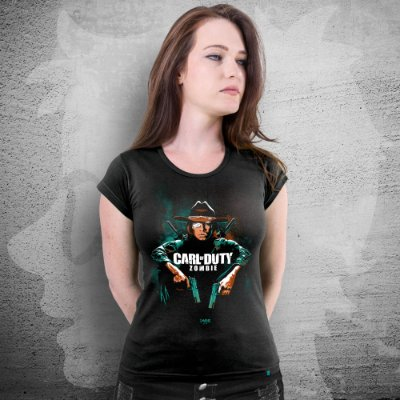 CAMISETA CARL OF DUTY | FEMININA