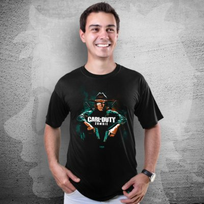 CAMISETA CARL OF DUTY | MASCULINA