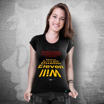 CAMISETA STRANGER THINGS WARS | FEMININA