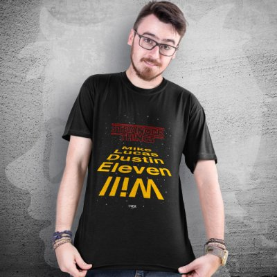CAMISETA STRANGER THINGS WARS | MASCULINA