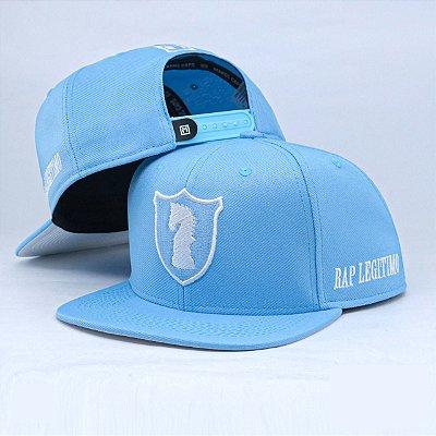 Boné Rap Legítimo azul bebê