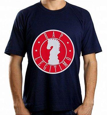 Camiseta Rap Legítimo, azul marinho