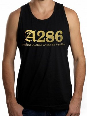 Regata A286, preta e dourada