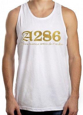 Regata A286, branca e dourado