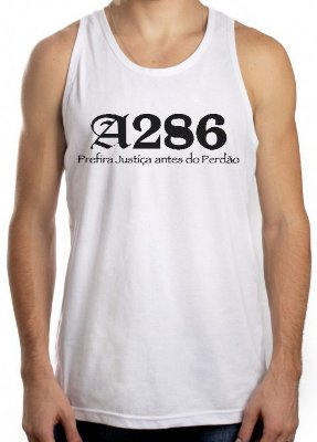 Regata A286, branca e preta