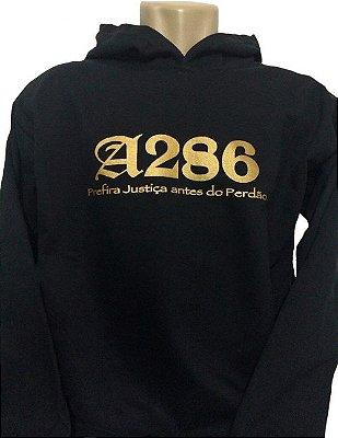 Moletom A286 II, preto e dourado