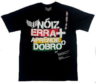 """Camiseta 1DASUL, """"Nóiz Erra"""", preta"""