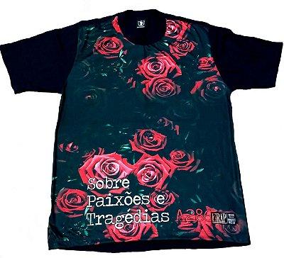 Camiseta A286 - Sobre Paixões e Tragédias