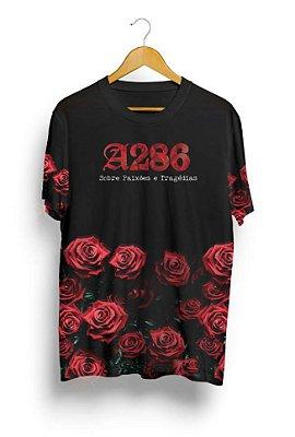 Camiseta Preta A286 - Sobre Paixões e Tragédias (Edição Limitada)