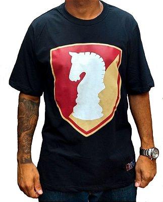 Camiseta escudo Rap Legítimo, preta - Coleção 2019