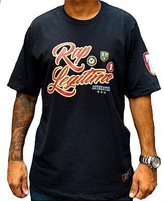 Camiseta Rap Legítimo, preta - Coleção 2019